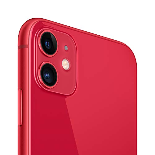 Apple iPhone 11 (64GB, (Product) RED) [Locked] + Cricket Wireless Plan