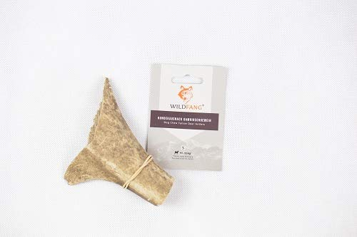 Wildfang Fallow Deer Antlers for Dogs I Natural Dog Chew Bone - Dog Dental Care - Masticatory Muscle Training - Dog Toy I Durable Chew Stick made from Deer Antler Discharge Sticks WITHOUT Additives