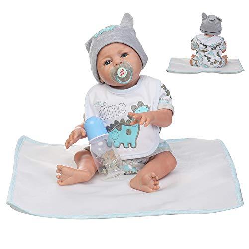 CAheadY Lebendige Simulation Baby Spielzeug Weiche Kinder Kinder Neugeborenen Reborn Puppe Geburtstagsgeschenk