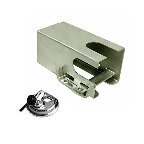 ProPlus 341325S - Protector antirrobo para Enganche de Remolque