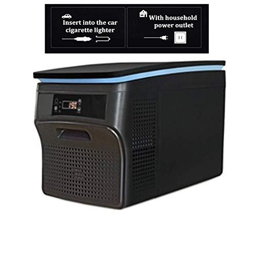 GUANHONG Refrigerador del Carro del automóvil compresor de refrigeración Mini Carro pequeño hogar de Doble Uso de Gran Capacidad congelado