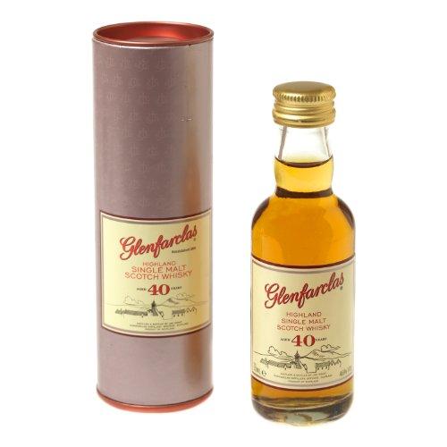 Glenfarclas 40 jahre alt Einzel Malt Scotch Whisky 5cl Miniatur