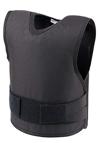 SafeGuard Clothing - Chaleco antibalas (nivel IIIA), negro, XXXL - Chest Size 54-56 ⭐