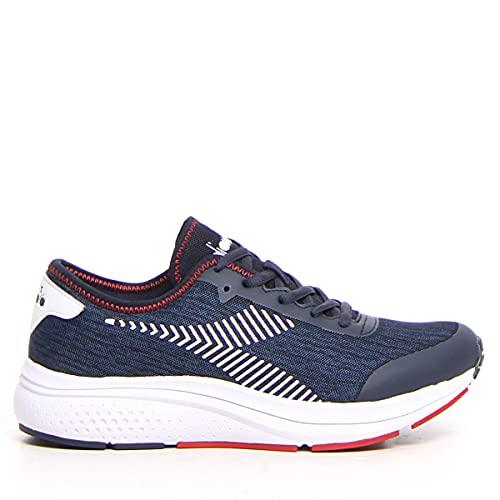 Diadora Chaussures de running pour homme, C9619 Bl Corsair Federal Blue Wht, 45 EU
