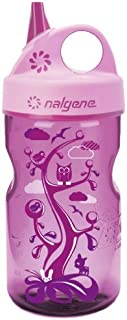 Nalgene Grip-N-Gulp Water Bottle (Pink Woodland, 12-Ounce) by Nalgene