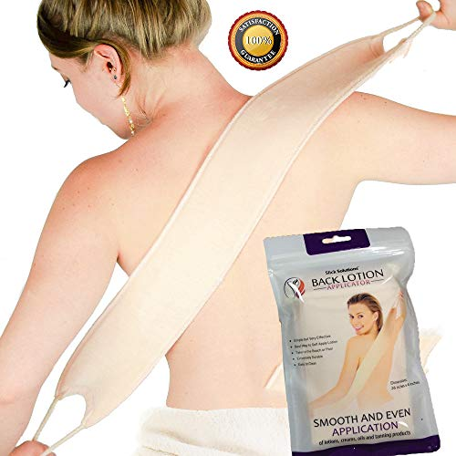 Lotion Applicator for Your Back - Easy Application of Lotions and Creams - Smooth and Even Application to Entire Back - Sunscreen Applicator for Back