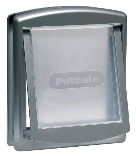 Staywell Katzentür 757 grau / transparent 35,2 x 29,4 cm