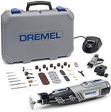 Dremel 8220 2/45 - Multiherramienta inalámbrica (12V, 2 complementos, 45 accesorios)