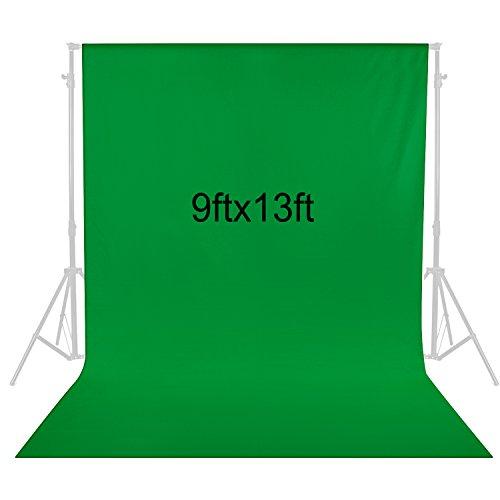 Neewer 2,8x4m Fondale Sfondo Fotografico in Tessuto per Fotografia Registrazioni Video (Verde)