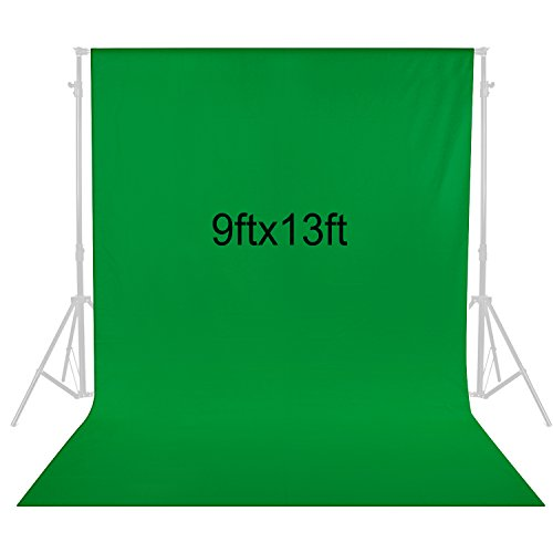 Neewer 9 x 13 feet/2.8 x 4 Meters Photography Background Photo Video Studio Fabric Backdrop Background Screen (Green)