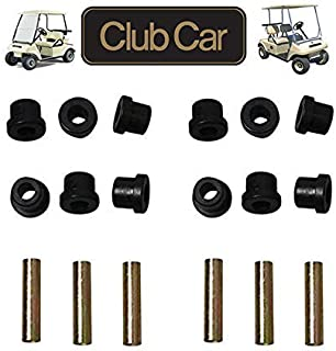 Front or Rear Leaf Spring& Front Upper A Arm Suspension for Club Car DS Golf Cart,Bushing and Sleeve Kit
