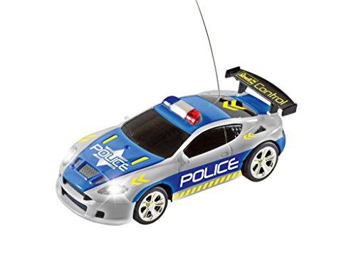 Revell 23559 Mini RC Police Car aus der Dose mit 27MHz-Fernsteuerung inkl. Ladefunktion & 23558 Mini RC Car Feuerwehr aus der Dose mit 40MHz-Fernsteuerung inkl. Ladefunktion, LED-Licht