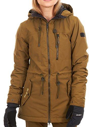 O'Neill Damen Eyeline hybrid Jacket, Dark Olive, S