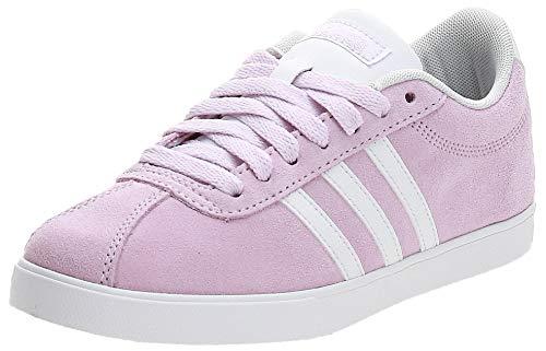 adidas Courtset, Zapatos de Tenis Mujer, Rosa Aero Pink S18 FTWR White Light Granite Aero Pink S18 FTWR White Light Granite, 38 EU