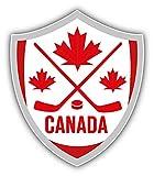 KW Vinyl Canada Hockey Shield Truck Car Window...