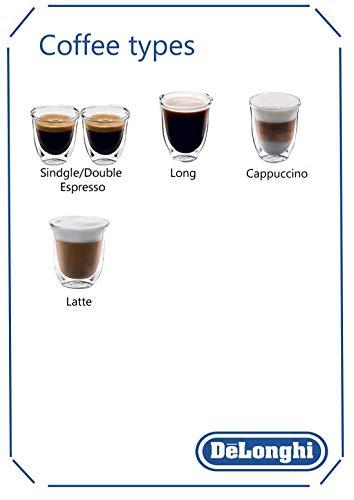 De'Longhi Magnifica S ECAM 21.117.B Máquina espresso, 1450 W, 1.8