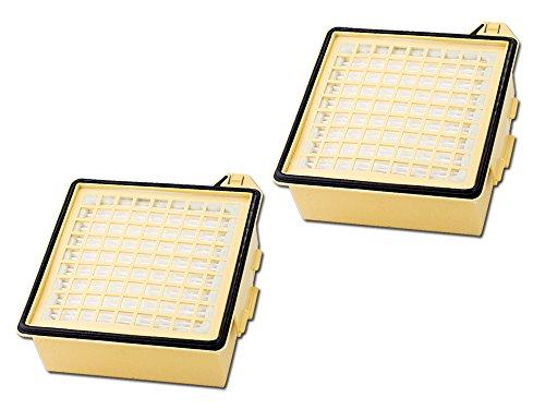 2 Hepa Filter Mikrofilter geeignet für Vorwerk Tiger 260