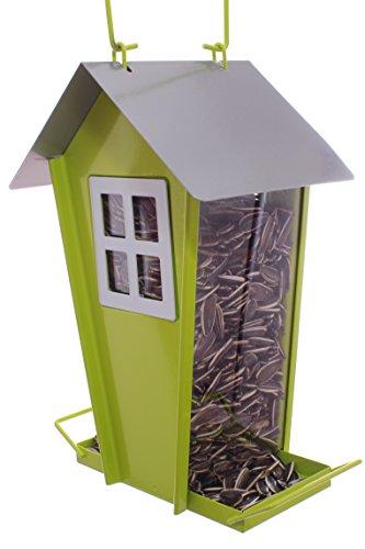 Scheune geformt Vogelhäuschen Prime Futterhaus, mehr Wildvögel, um Ihr Haus und Outdoor Garten für alle Samen zu reinigen und nachzufüllen Außen Deko Hänger Futterstationen