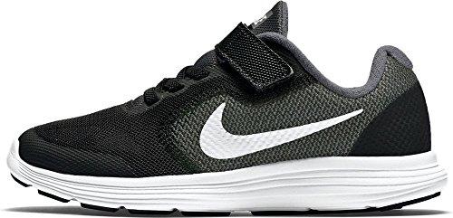 Nike Jungen Revolution 3 Psv Sneakers, Grau (Dark Grey/White-Black-Pr Pltnm), 34 EU (Herstellergröße : 2 UK)