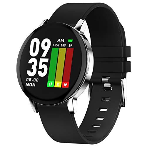 Ackofit Smart Watch Activity Fitness Tracker (Black)