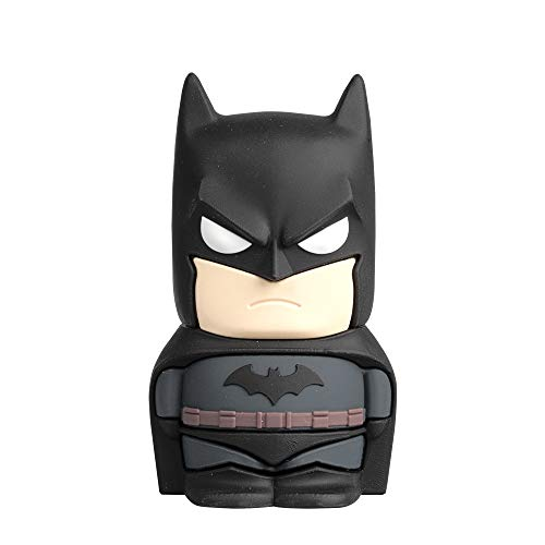 Tribe DC Comics Altavoz portátil Bluetooth Batman - Altavoz Recargable Wireless con...