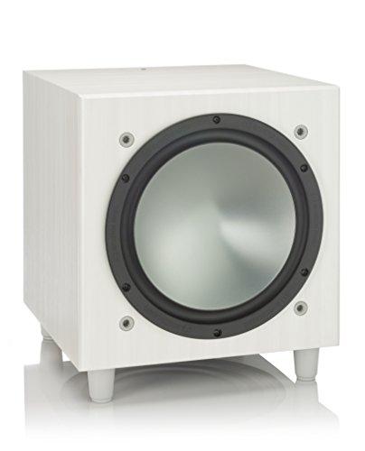 Monitor Audio Bronze W-10 Subwoofer, Farbe: White Ash EU/UK, 1 Stück