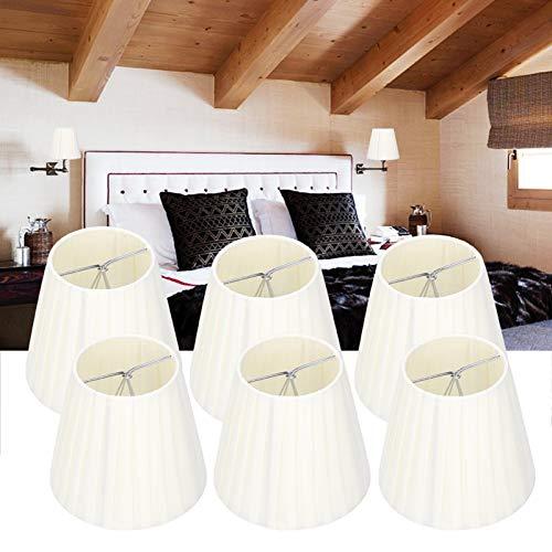 Pantalla de lámpara Tela de cristal Lámpara de pared Lámpara de pared Moderna y simple Suministros para el hogar Pantalla de lámpara Luz de mesa Cubierta de lámpara para sala de estar Decoración de do