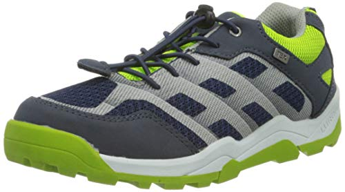 Lurchi Jungen TJARK-TEX Sneaker, Blau (Navy Green 32), 29 EU