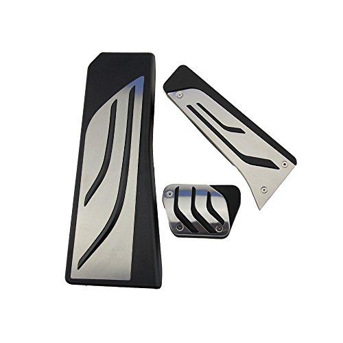 Pedale in acciaio inossidabile per X3,X4,F10,F11,523,528,535,F18,GT, F07,F12,F13,F01,F02