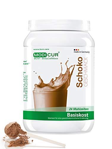 Modicur Diätshake zum Abnehmen   Schokolade Protein Pulver   24 Portionen Mahlzeit Ersatz inkl. Messlöffel   Ideal als Eiweißshake oder Mahlzeitersatz
