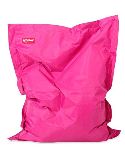 Roomox XXL Sitzsack Original - Gigantischer Sitzsack für drinnen und draußen 160 x 120 x 30 cm Massiver Sitzsack Bodenkissen aus Wasserresistentem Polyester