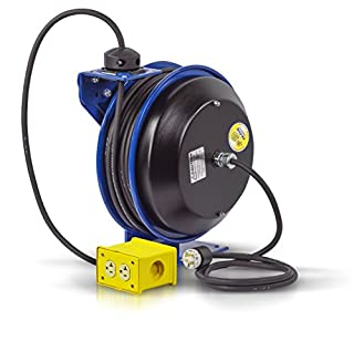 Coxreels EZ-Coil Safety Series Power Cord Reel with Quad Receptacle - 50ft., Model# EZ-PC13-5012-B (B000N4Y50Y) | Amazon price tracker / tracking, Amazon price history charts, Amazon price watches, Amazon price drop alerts