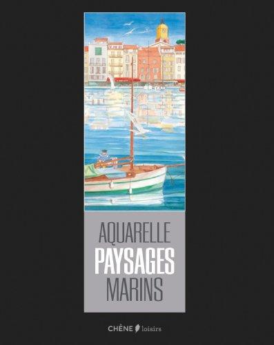 AQUARELLES PAYSAGES MARINS