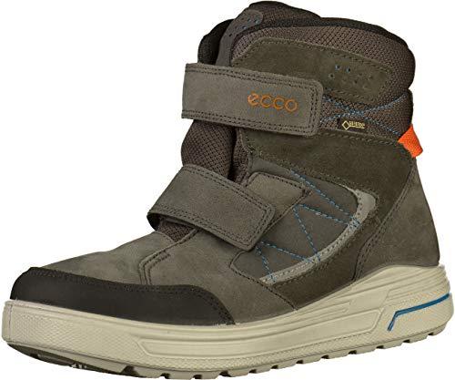 ECCO Unisex URBAN Snowboarder Klassische Stiefel, Grau (Black/Dark Shadow 56340), 39 EU