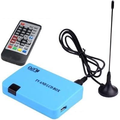 Rundongyiliao Stand-Alone DVB-T Receiver TV/LCD Box Digital Mundane Wireless Program Playing