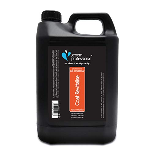 Groom Professional Coat Revitalise Highly Concentrated Dog Conditioner, 4 Litre