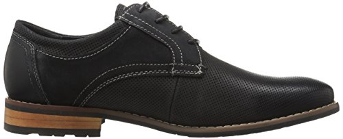 Steve Madden Men's Cherp Oxford, Black Nubuck, 12 M US
