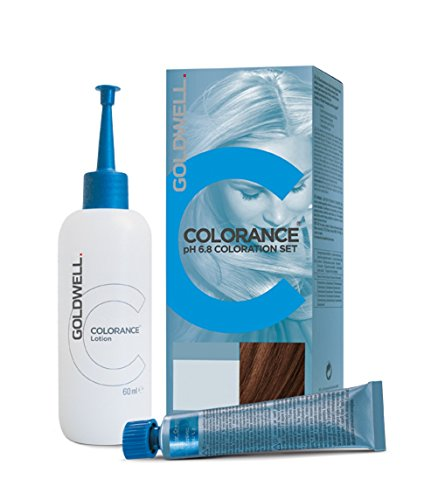 Goldwell Colorance pH 6,8 Colorations Set 6RB, rotbuche mittel, 1er Pack, (1x 90 ml)