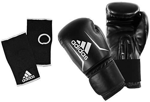 adidas Adult Boxing Inner Gloves 12oz Mens Women Gym Fitness Training Set