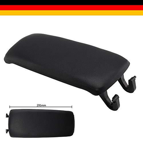 BALLSHOP Mittelarmlehne Deckel Mittelkonsole Abdeckung Leder Zubehör für 02-07 A4 S4 8E B6 B7