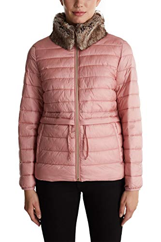 ESPRIT Collection 070EO1G301 Chaqueta acolchada, 680/rosa antigua, XXS para Mujer