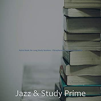 Retro Music for Long Study Sessions - Vibraphone and Tenor Saxophone