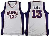 GIHI Camiseta De La NBA para Hombre, Camisetas De Phoenix Suns Steve Nash 13#, Ropa De Entrenamiento De Baloncesto De Malla Bordada Retro,S(165~170CM/50~65KG)