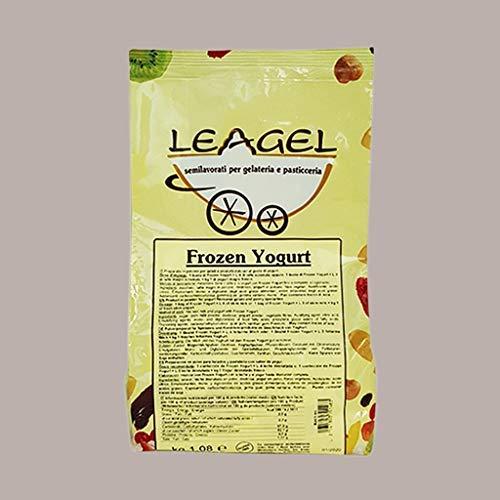 1,08 Kg Preparato in Polvere per Macchina Soft Frozen al Gusto Yogurt Gelato LEAGEL Prodotto già pronto per l'uso Dolci Alimenti