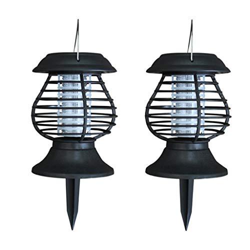jieGorge Led Lampe RäUmungsverkauf!!!Solar LED Licht Mücke Zapper Insektenkiller Licht Garten Rasen