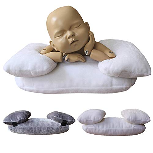 Yuniroom Newborn Infant Baby Photography Prop Kid Posing Photo Shoot Studio Pillow Positioner Nursing Pillow and Positioner (Color : White)