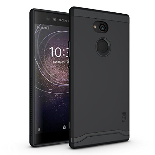 TUDIA Sony Xperia XA2 Ultra Case, Slim-Fit Heavy Duty [Merge] Extreme Protection/Rugged but Slim Dual Layer Case for Sony Xperia XA2 Ultra (Matte Black)