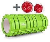 Maximo Foam Roller - Rullo in Schiuma - Qualit Superiore - Eccellente Rullo per l'Auto Massaggio - Trigger Point - Rilascio Miofasciale - 14 cm x 33 cm - Istruzioni in Italiano - Palline da massaggio Gratuite.