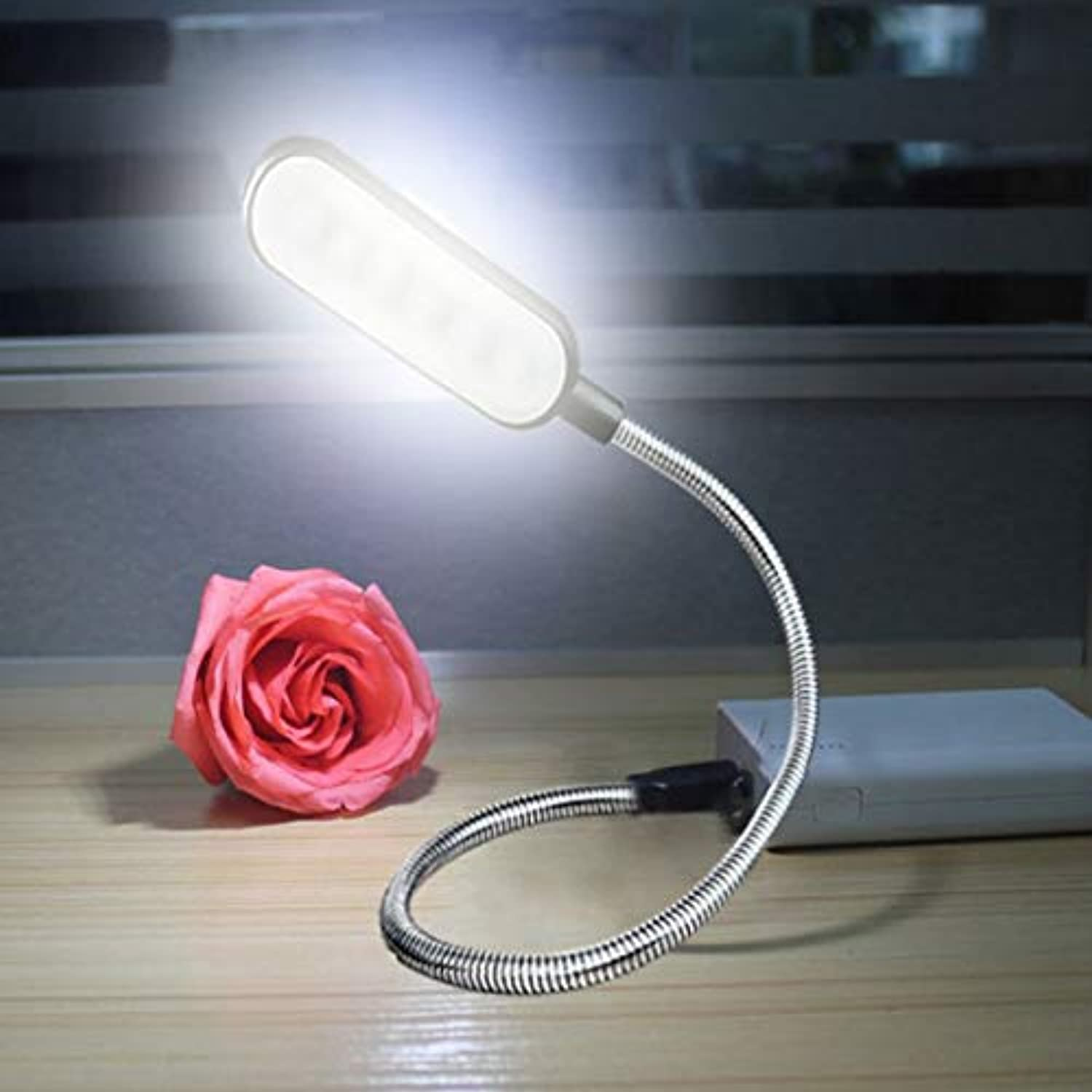 Desk Lamps LED Portable Eye Protect Table Lamp Bendable USB Powerot Computer Notebook Reading Book Light