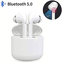 Bluetooth Headphones Wireless Earbuds Portable Charging Case Noise Cancelling Headphones for Sports IPX5 Waterproof - in-Ear Headphones for Apple Airpods Samsung/iPhone/Android